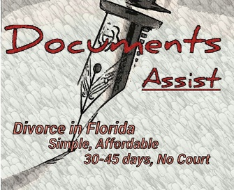 DOCUMENTS ASSIST Corp Fast Simple And Affordable DIVORCE Document - Legal document preparation services